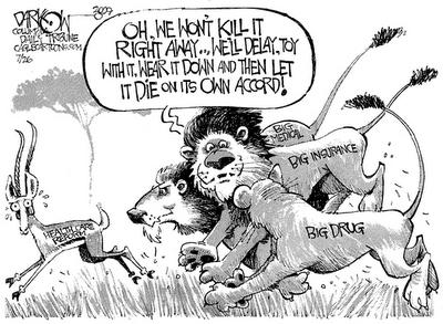 Health Care Reform-interests killing it 07-27-09